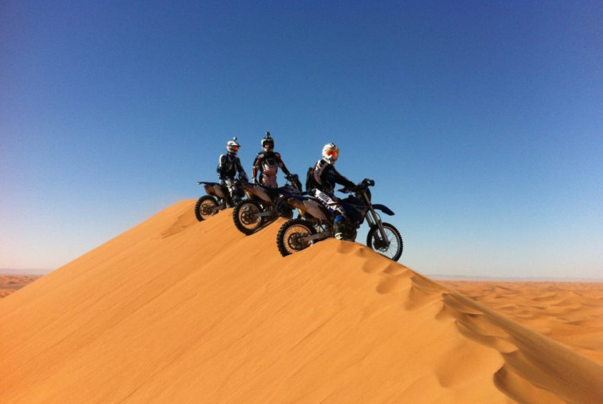 rutas marruecos en moto
