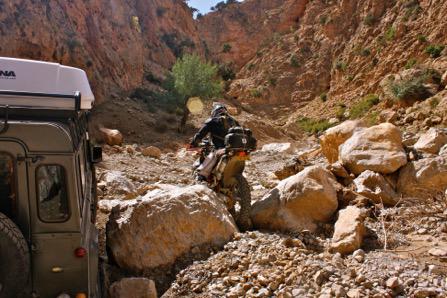 hacer rutas en bici por marruecos